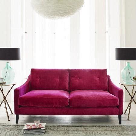 vielle frances meridian fuschia sofa