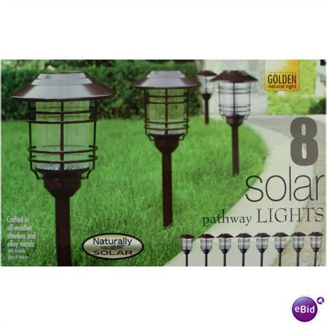 naturally solar 8 pc solar pathway lights gnewsinfo