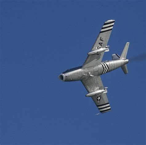North American F-86a Sabre, Airbourne 2013, From Beachy Head