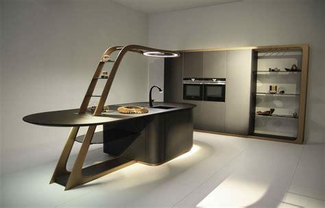cuisine futuriste la cucina futuro è smart compatta e con chef