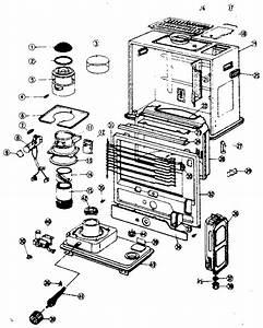 Sanyo Model G28h Heater  Kerosene Genuine Parts