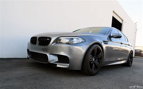 Bmw Space Grey by Space Gray Bmw F10 M5 Gets Modified At European Auto Source