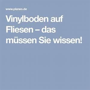Vinylboden Auf Fliesen : vinylboden auf fliesen das m ssen sie wissen ~ Watch28wear.com Haus und Dekorationen