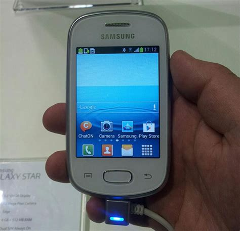 Samsung Africa Officially Announces The Galaxy Star And