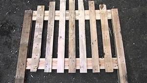 Faire Une Cloture En Bois : construction d 39 une cl ture en bois part 2 2 youtube ~ Dallasstarsshop.com Idées de Décoration