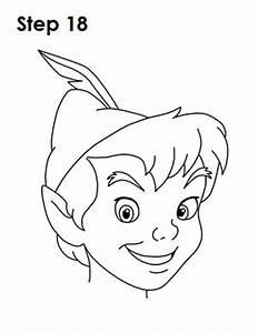 How to Draw Peter Pan Step 18 | Peter Pan | Pinterest ...