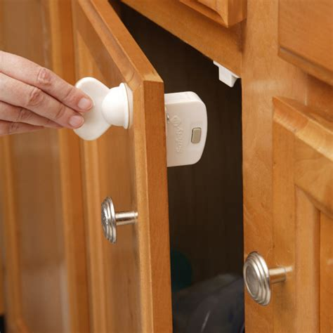 child locks for cabinet doors safety first child proof magnetic lock key in cabinet hardware