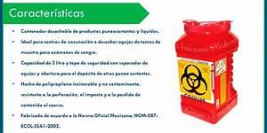 Bote Para Residuos Punzocortantes Biologicos Infeccioso 3lt $ 130 00 en Mercado Libre
