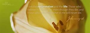 Download John 11:25-26 - Christian Facebook Cover & Banner
