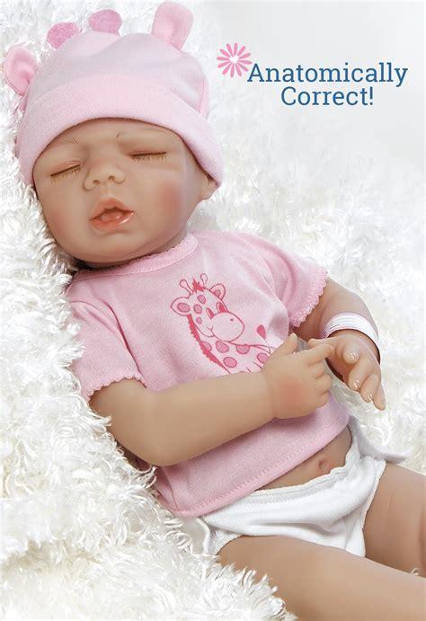 Real Life Girl Baby Doll, Anatomically Correct Tiny Twins