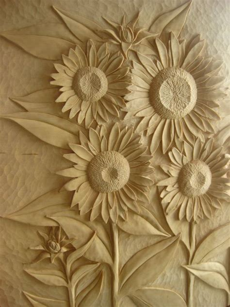 sunflower childs bed handcarved basswood   alder