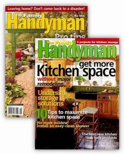 Family Handyman Magazine for $6 99 per Year