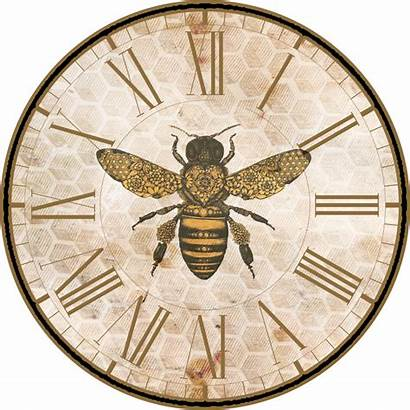 Printables Bee Bees Keeping Printable Clock Face