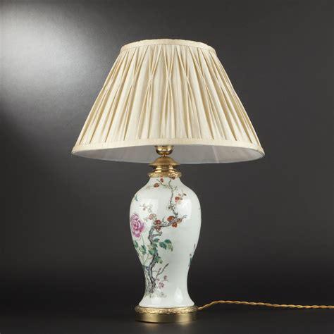 abat jour pour le chinoise pied de le en porcelaine chine xxe si 232 cle 2013110832 expertissim