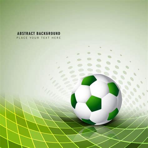 Grüne Fußball Hintergrund  Download Der Kostenlosen Vektor
