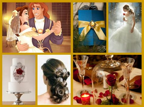 Beauty and the Beast wedding theme family Pinterest