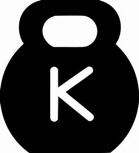 Kettlebell Svg Png Icon Free Download (#531512 ...