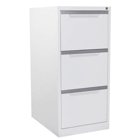 Three Drawer File Cabinet White by File Cabinet Design File Cabinets 3 Drawer Vertical