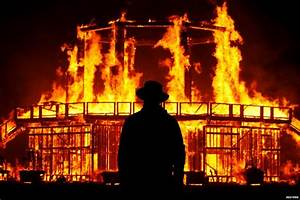 Man dies from burns after running into fire at Burning Man ...