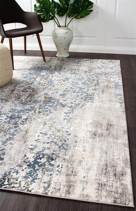 elizabeth  grey blue beige abstract patterned modern