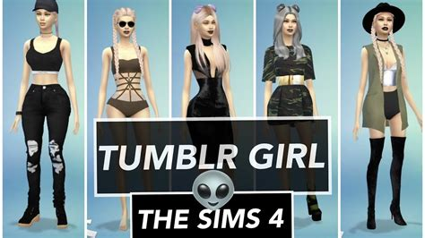 TUMBLR GIRL? The Sims 4     Come scaricare e installare
