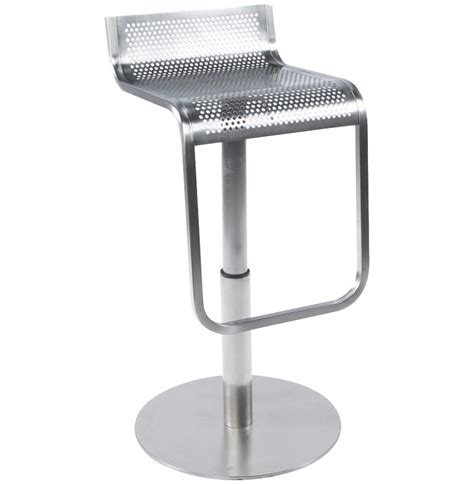 tabouret de bar metallique tabouret de bar design logo en m 233 tal bross 233 style industriel