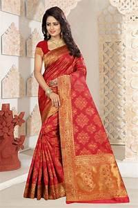 Designer Sarees Replica Online Buy Online Red Colour Designer Kanjivaram Silk Saree