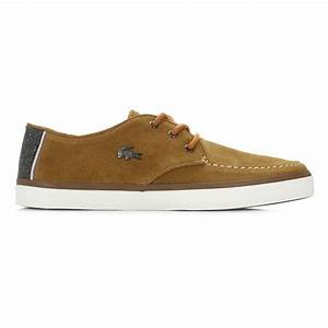 Lacoste Mens Tan Brown Sevrin 2 LCR Suede Shoes Lace Up ...