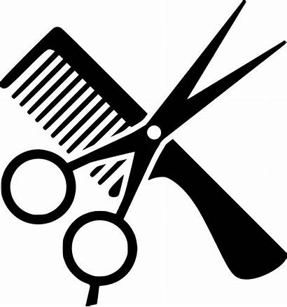 Scissors Clipart Haircut Hair Cut Comb Transparent