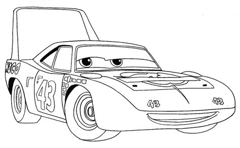cars characters drawings how to draw king from disney pixar 39 s cars with easy step