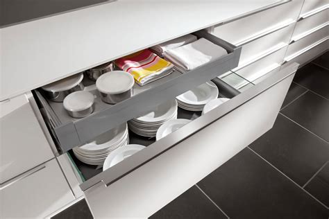 contemporary kitchen storage german fitted kitchens dublin monaghan handleless nobilia 2516