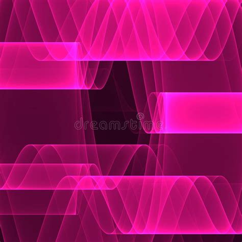 Abstract Pink Background Bright Pink Lines Geometric