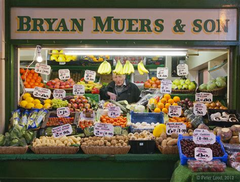 Photographs of Newcastle by Peter Loud, Grainger Market ...