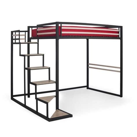 lit mezzanine bureau pas cher home mezzanine 140x200 achat vente lit mezzanine pas