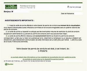 Solde Points Permis : permis de conduire le suivi d taill des infractions disponible en ligne fin 2015 ~ Medecine-chirurgie-esthetiques.com Avis de Voitures