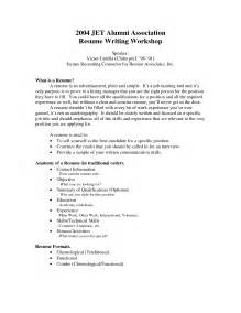 format of resume with work experience