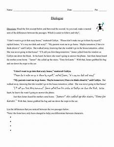 how to add dialogue in an essay