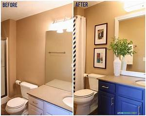Guest, Bathroom, Makeover, Before, And, After
