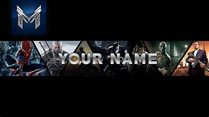 Banner Gaming Template Photoshop Speed Downland Cs6