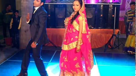 indian couple dance   wedding reception party