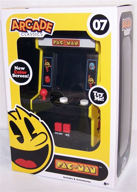 pac man mini arcade classics game atari 07