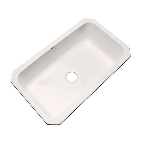Thermocast Manhattan Undermount Acrylic 33 in. Single Bowl