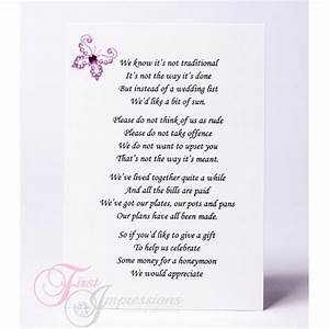 wedding invitation wording money instead of gifts With wedding invitation etiquette asking for money