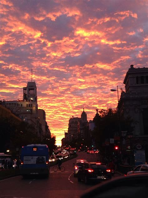 sunset madrid sunset collection   sky aesthetic