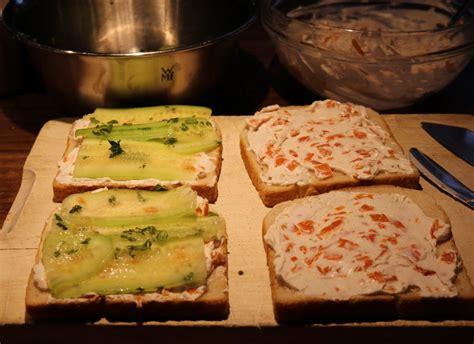 zutaten auf englisch cremige gurken sandwiches mit lachs daily vegan