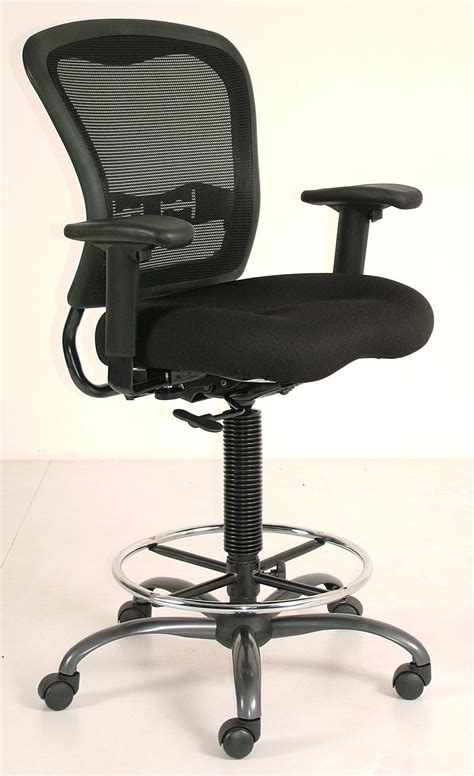 office ergo drafting chair black reviews prices