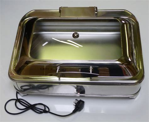 electric chafing dishes uk display electric chafing dish oblong gn 1 1 size