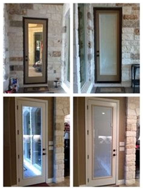 before and after images of an 8 0 quot patio door remodel we