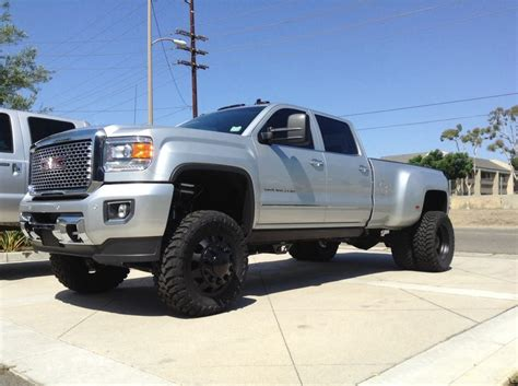 2015 gmc 3500 hd dually cst suspension american weeks and toyo tires chevy gm 2500