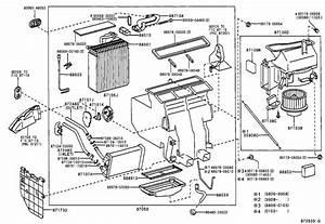 Toyota Solara Hvac Control Module  Auto  Ring  Manual